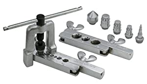 Klein Tools 89020 8-Piece 45-Degree Flaring & Swaging Tool Set