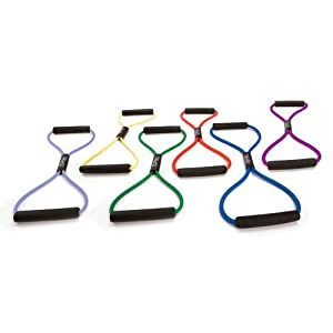 SPRI Ultra Toner Resistance Band Exercise Cords