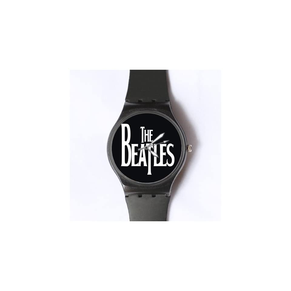 Custom The Beatles Watches Classic Photo Black Watch WXW 1889