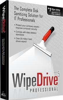 Wipe Drive Pro V5.0 Cdrom And Small Box front-685902