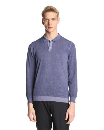 Jil Sander Men's Long Sleeve Knit Polo