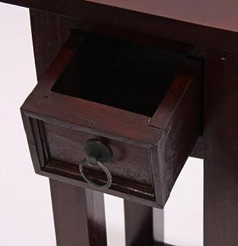 Mahagoni beistelltisch telefontisch tisch 67x25x25cm for Beistelltisch 25x25