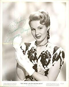 Virginia Mayo - Inscribed Photograph Signed - Autographed College Photos by Sports+Memorabilia