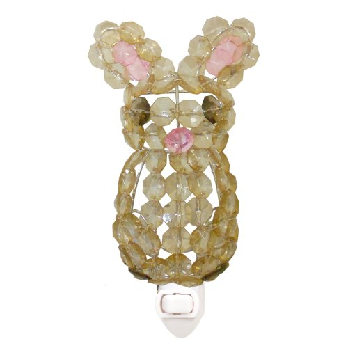Lambs & Ivy Beaded Nightlight, Bunny