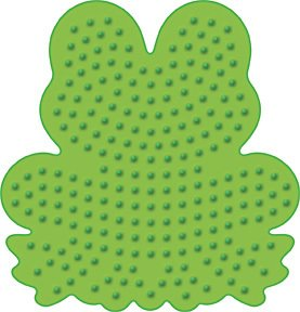 Frog Pegboard for Perler Fuse Beads