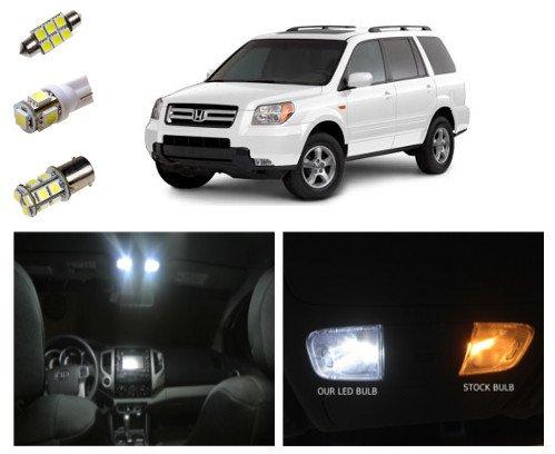 06 08 Honda Pilot Led Package Interior Tag Reverse Lights 14 Pieces Vehicles Parts Vehicle