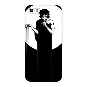SherBat Back Case Cover for iPhone SE