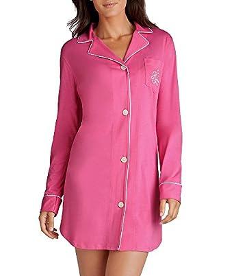 Lauren Ralph Lauren Hammond Knits Sleep Shirt, XS, Black