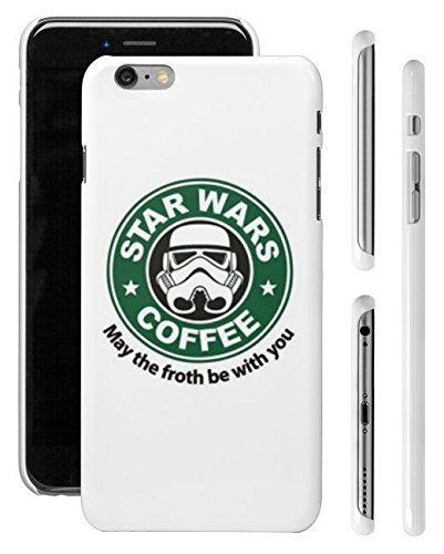 "New iPhone 6 Plus 6s Plus (5.5"") Case, Darth Vader, Darth Maul, R2D2, Stormtropper, Soft Plastic TPU Clear Protection Skin Case Cover for iPhone (STAR WARS STYLE #5, iPhone 6 6S Plus (5.5))"