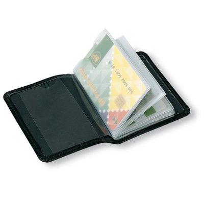Credit Card Holder - Black - Holds 12 Cards