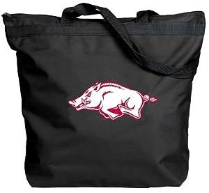 Buy Arkansas Razorbacks - NCAA Zippered Tote by NCAA
