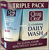 Clean & Clear Exfoliating Daily Wash Triple Pack 3 x 150ml