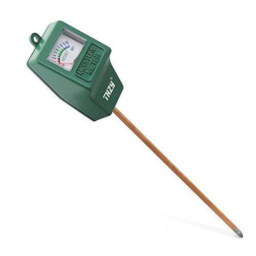 Feuchtigkeits messer, THZY Indoor / Outdoor Feuchtesensor Meter, Bodenwasser-Monitor, Hydrometer fuer die Gartenarbeit, Landwirtschaft