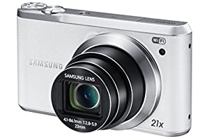 Samsung Electronics Smart Camera EC-WB380FBPWUS 16.3 MP with 21x Optical Image Stabilized Zoom and 3-Inch LCD (White)