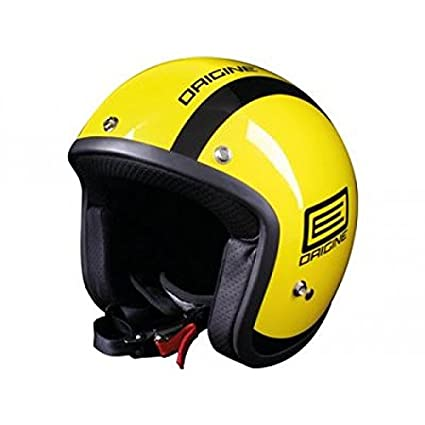 OR001093 - Casque Origine Primo Luna Jaune Brillant/Noir S