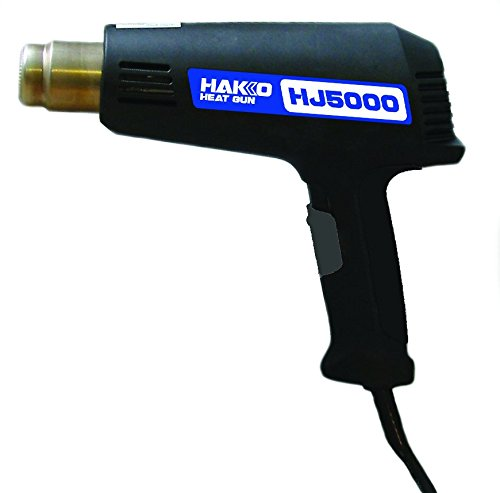 Hakko-HJ5000P-Dual-Temperature-Heat-Gun-Gold-600-degrees-F-and-950-degrees-F