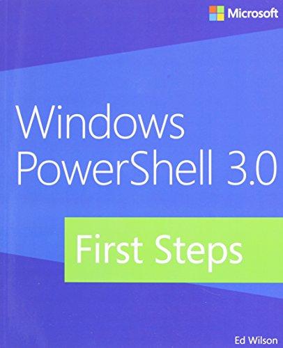 Windows PowerShell 3.0 First Steps