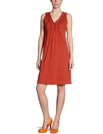 Eddie Bauer Damen Kleid (knielang), 22206962, Gr. 32 (XS), Rot (Rost)