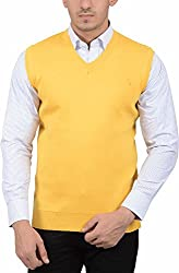 LiveStrong Men's Sweater (54000 S/L Yellow, Yellow, M)