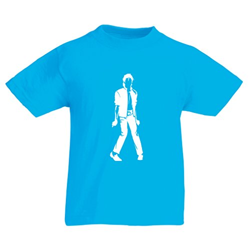 n4123k-t-shirt-pour-enfants-i-love-m-j-9-11-years-bleu-clair-blanc