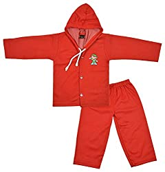 Maruthi Kids Baby Clothing Set (KCM11, Red, 6 to 9 Months)