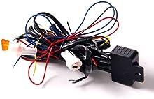 Diurna LED luz Corriente DRL Cableado de Relé Automático Control