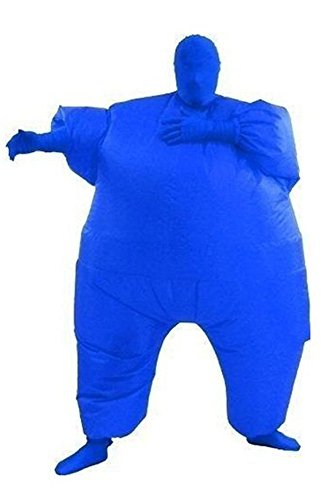Chub Suit Inflatable Blow Up Chubsuit Full Body Skin Jumpsuit Costume