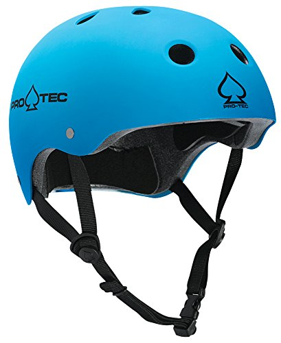 Pro-tec Classic Matte Skateboard Helmet, Blue, X-Large