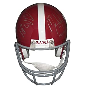 Mark Ingram And Trent Richardson Autographed Alabama Crimson Tide Authentic Proline... by PalmBeachAutographs.com