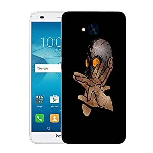 Snoogg Hi Sandwich Designer Protective Back Case Cover For HUAWEI HONOR 5C