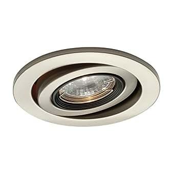 voltage gimbal ring recessed lighting trim finish black decorative. Black Bedroom Furniture Sets. Home Design Ideas