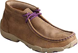 Twisted X Boys\' And Purple Driving Mocs Bomber 4.5 D(M) US