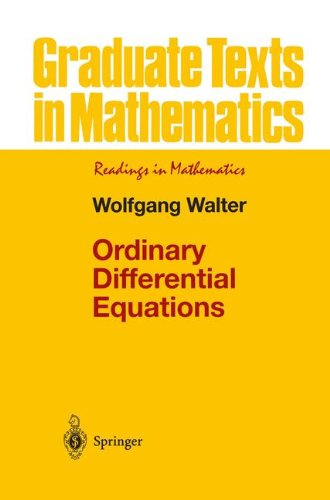 Ordinary Differential Equations (Graduate Texts in Mathematics): Wolfgang Walter, R. Thompson: 9780387984599: Amazon.com: Books