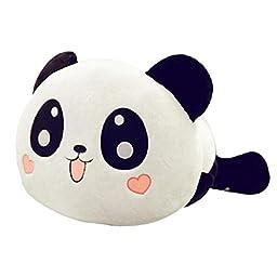 Sannysis Cute Plush Doll Stuffed Animal Panda Pillow Bolster Gift 20cm 8\