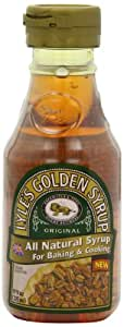 Lyle's Golden Syrup, Original, All-Natural Syrup for Baking and Cooking, 11-Ounce Bottles (Pack of 6)