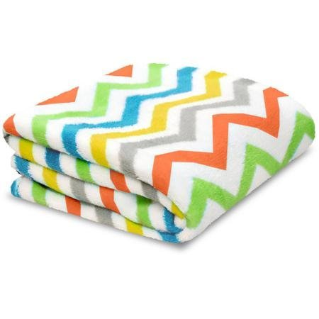 Baby Soft Zig Zag Multi-color Blanket