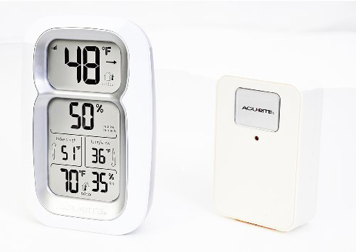 Chaney Instruments Acu-Rite 00611 Thermometer/Hygrometer with Wireless Remote Sensor
