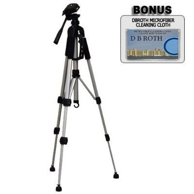 "Deluxe 57"" Camera Tripod with Carrying Case For The Nikon D40, D40X, D60 Digital SLR Cameras"