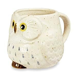 Amazon Com Owl Ceramic Mug Snow Tea Services Coffee