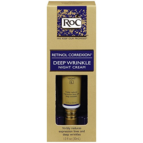 RoC Retinol Correxion Deep Wrinkle Night Cream, 1-Ounce Tube
