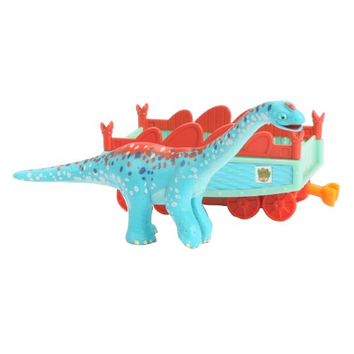 Learning Curve Dinosaur Train Collectible Dinosaur With Train Car - My Friends Are Quadrapeds: Arnie - 1
