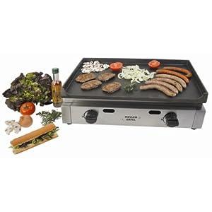 Best roller grill r psg600 plancha gaz 2 feux prix grills et barbecues - Plancha roller grill gaz ...