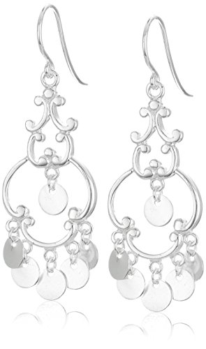 Polished Sterling Silver French Wire Earrings