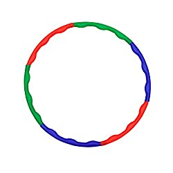 GSI Collapsible Hula Hoop Exercise Ring for Aerobics and Weight Loss