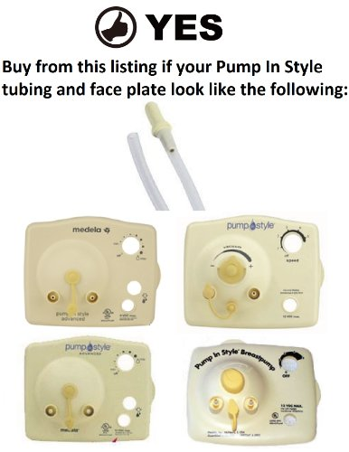 Pump in style breast pump tubing