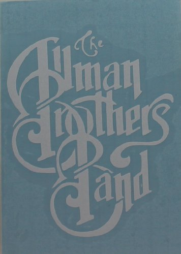 Licenses Products Allman Bros. - Logo Rub-On Sticker, white