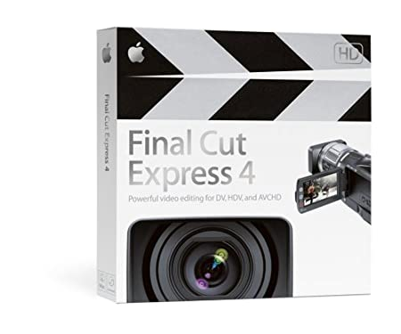 Final Cut Express 4 Upgrade from Final Cut Express 1, 2, 3, or 3.5 [OLD VERSION]