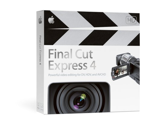 Final Cut Express 4.0 Upgrade from FCE 1,2,3,3.5