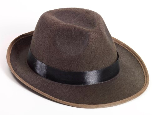 Brown Fedora - 1