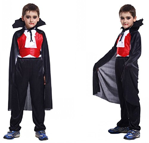 Purplebox Halloween Cosplay Costume Masquerade Child Vampire Cloak Clothes